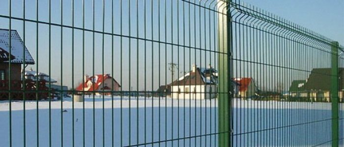 Сетчатый забор