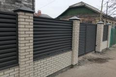 Жалюзийные забор и ворота