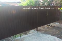 Батуринская-ворота-забор