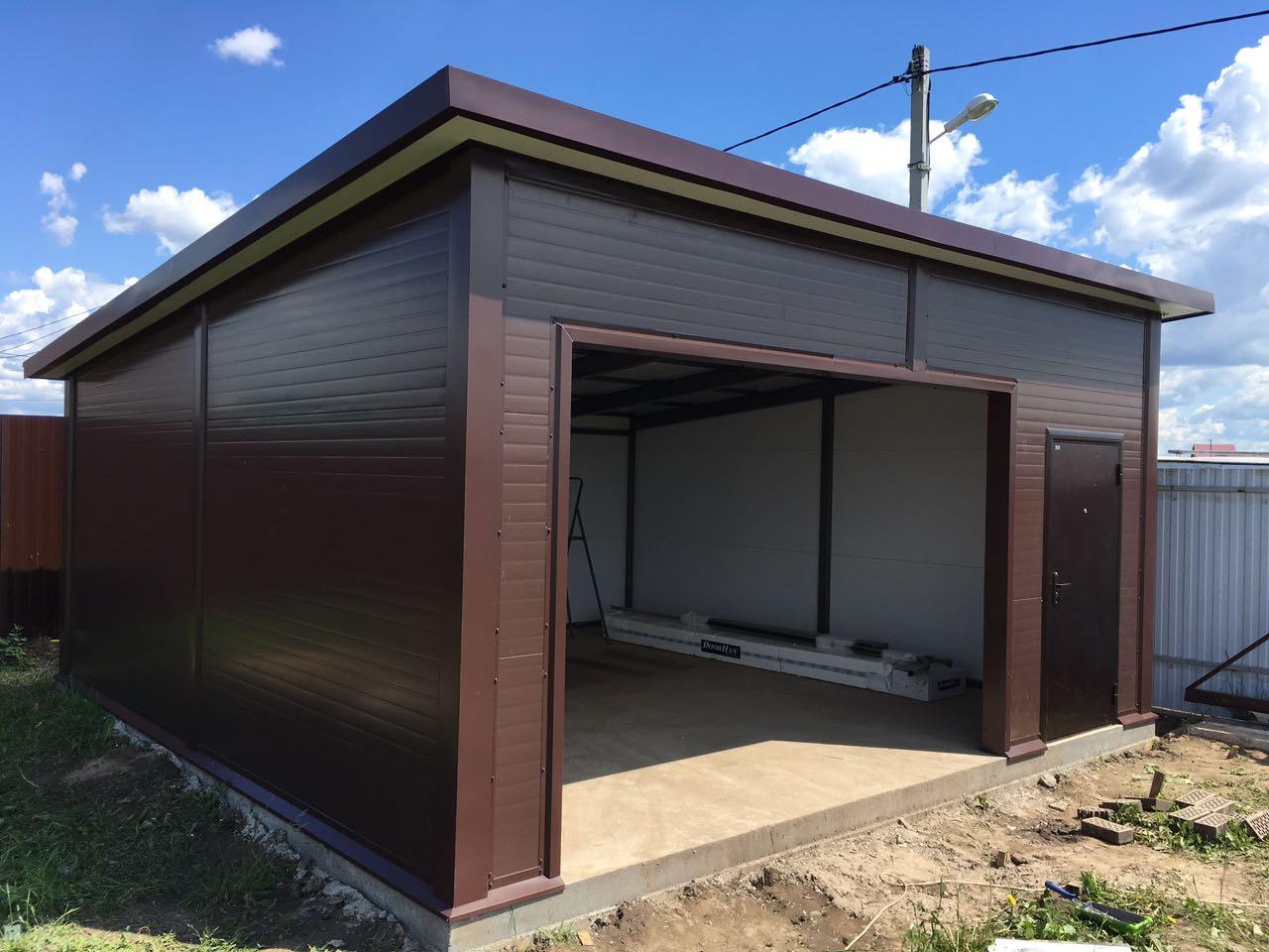 Модульный гараж 1