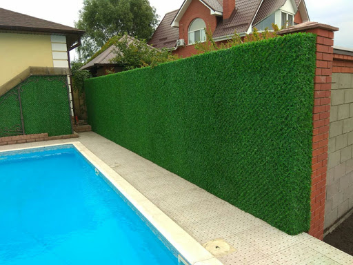 Зеленые заборы
